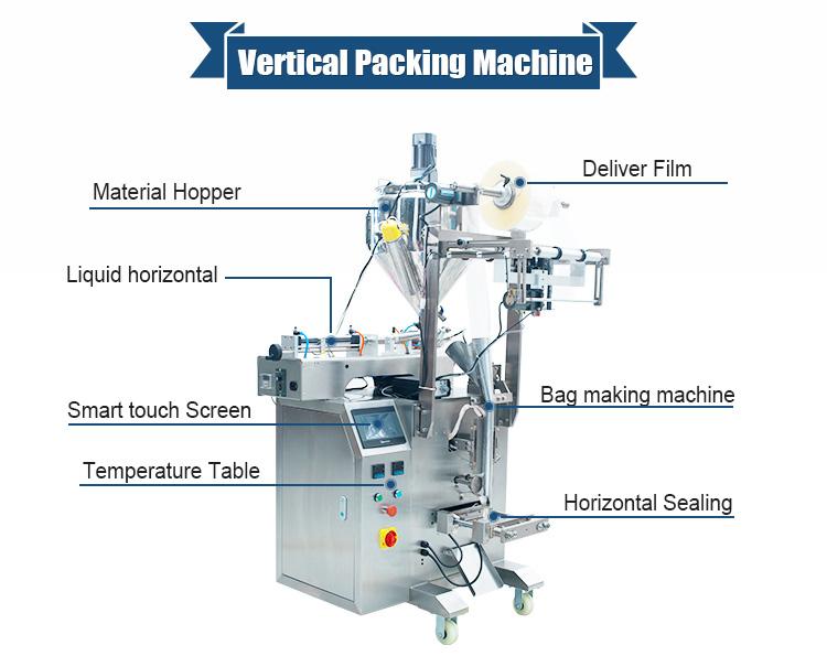 Vertical Fill Form Seal Machine Vffs Machine Liquid